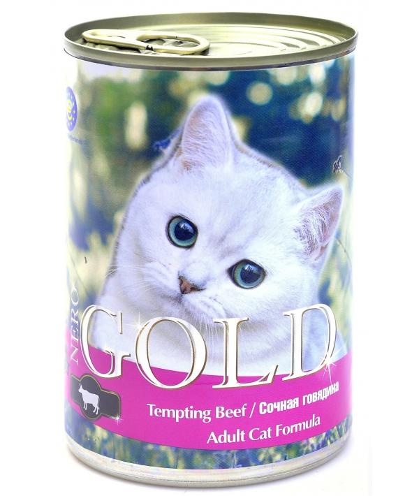 """Консервы для кошек """"Сочная говядина"""" (Tempting Beef)"""