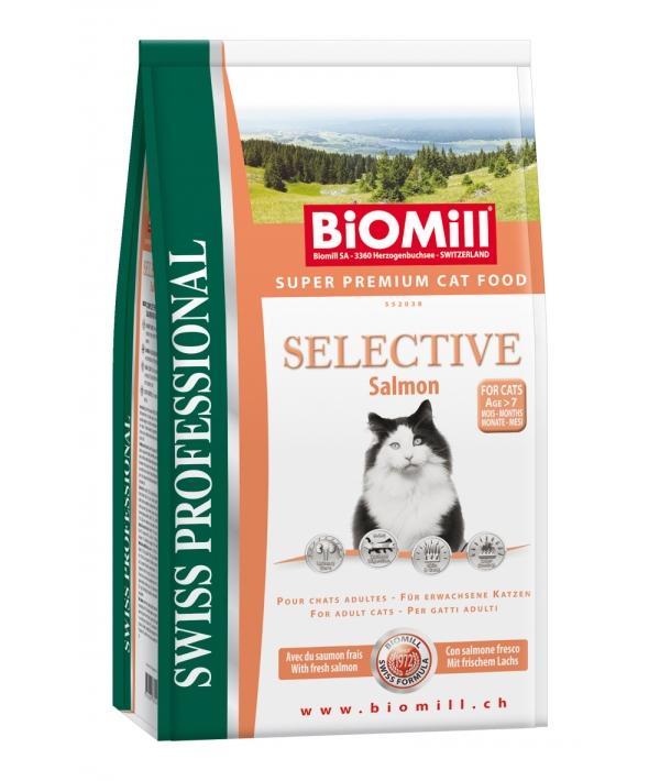 Для взрослых кошек с норвежским лососем (Selective Salmon)(552038)