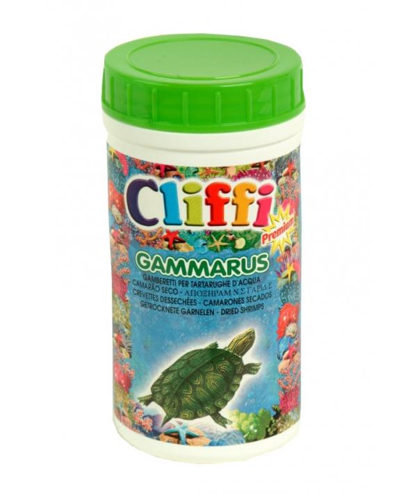 Для черепах, средние сушеные креветки, 250мл (Gammarus) PCAA302