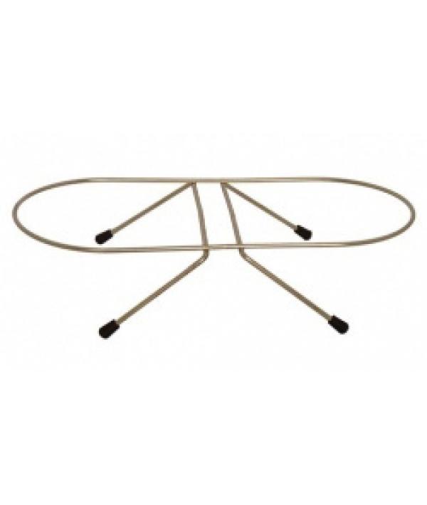 Подставка под миски двойная 21см, 1,75 л (Double dinner wire frame) 175417