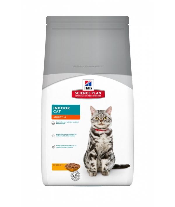 Для домашних кошек – контроль веса и вывод шерсти (Indoor) 9901R