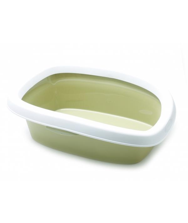 Туалет Sprint – 10 с рамкой, зеленый, 31*43*14 (96459)