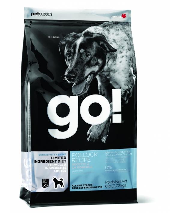 Беззерновой для щенков и собак с треской для чувст. пищеварения (Sensitivity + Shine LID Pollock Dog Recipe, Grain Free, Potato Free) 24 – 12