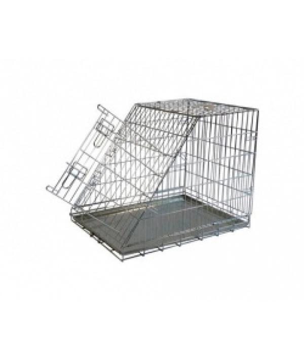 Клетка металлическая с уклоном, 97*64*69см (Wire cage with slope side) 150397