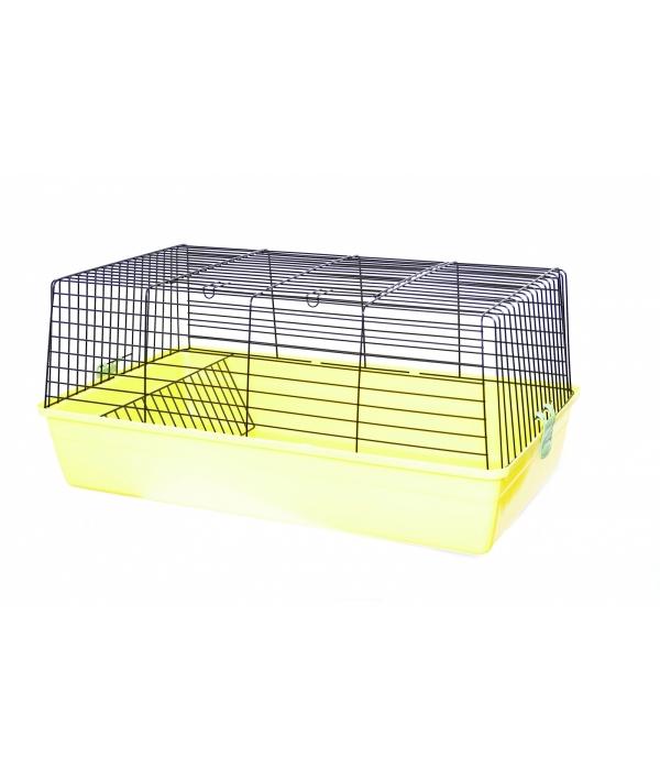 Клетка для грызунов 70 * 45 * 36 см (Rodent cage cavie 3 coloured funny) 35166