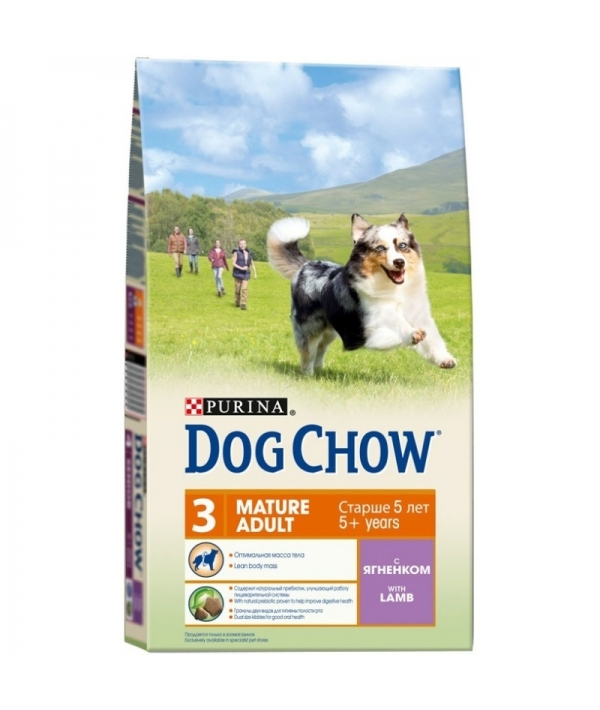Для взрослых собак старше 5 лет с ягненком 12308570