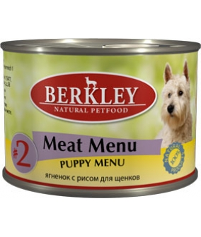 Консервы для щенков с новозеландским ягненком и рисом (Puppy Lamb&Rice)