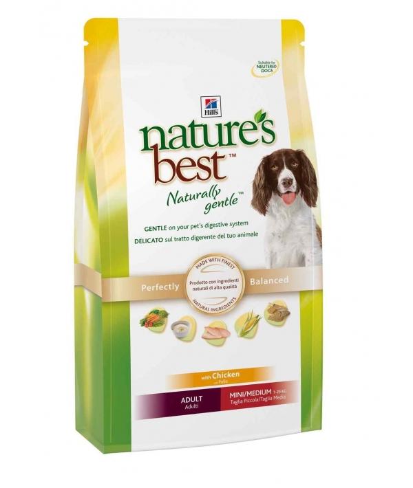 Nature's Best для взр. собак мал. и ср. пород с курой и овощами (Adult mini/medium) 5596M