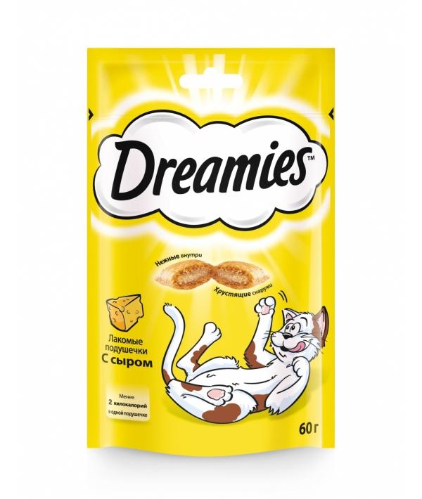 Лакомые подушечки для кошек с сыром, 7556