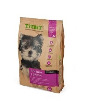 Сухой корм для щенков малых и средних пород ягненок с рисом (008300)