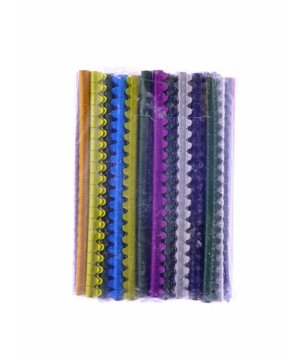 Алюминиевые кольца для волнистых попугайчиков 4 мм (Аlum.bird rings for budgies 4 mm) 14453