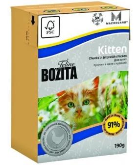 Кусочки в желе для Котят с курицей (Kitten)