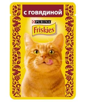 Кусочки в подливе c Говядиной для кошек 12261826