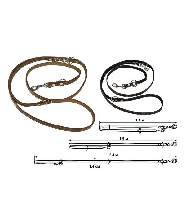 Перестёжка кожаная, 1,2 – 2м*1см (020510)