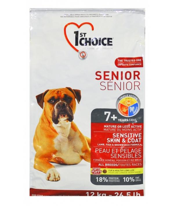 Для пожилых собак с ягненком (Senior Sensitive Skin&Coat)