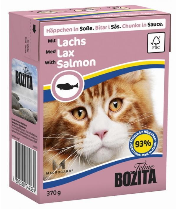 Кусочки в СОУСЕ для кошек с лососем (Salmon)