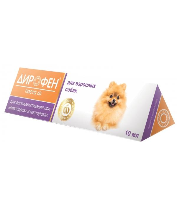Дирофен паста от глистов для собак