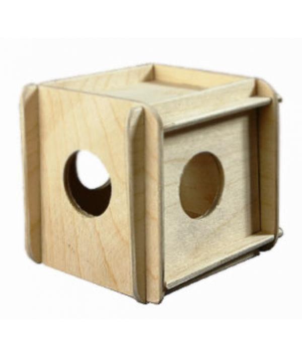 Игрушка для грызунов кубик малый (8521)