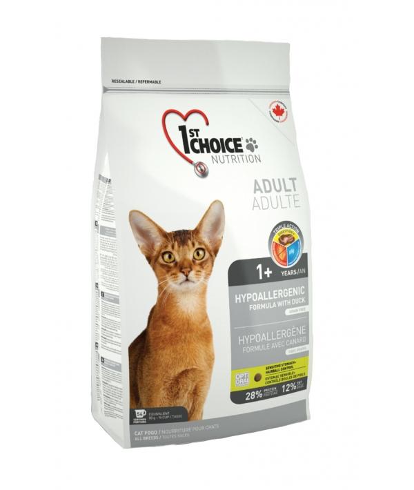 Для кошек, картошка с уткой (Hypoallergenic)