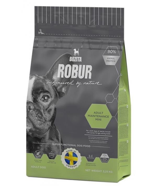 Robur для взрослых собак средних и мелких пород с норм. и высоким уровнем активности (Adult Maintenance mini 27/17)