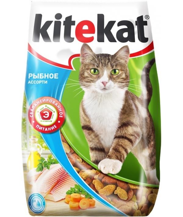 Сухой корм для кошек рыбное ассорти 10132135