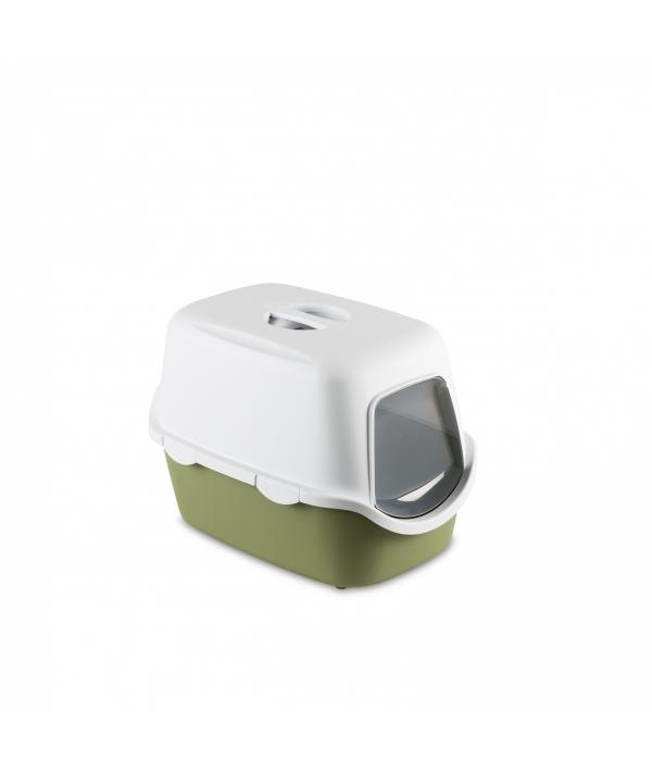 Туалет закрытый Cathy, зеленый с угольным фильтром, 56*40*40см (97586)