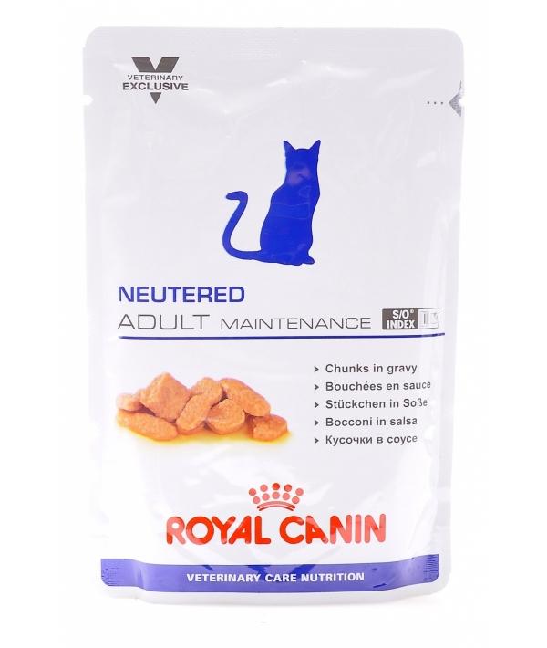 Паучи для кастрир.котов и кошек c нормальным весом: 1–7 лет (Neutered Adult Maintenance) 7711017