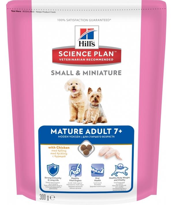 Для пожилых собак малых и миниатюрных пород с курицей (Mature Adult 7+Small&Miniature ) 1932FA/2825X