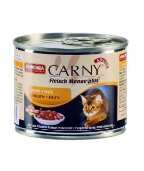 Консервы для кошек с говядиной, курицей и уткой (Carny Adult) 001/83706