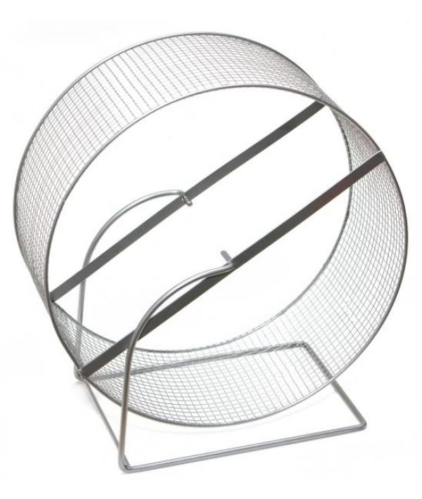 Колесо д/грызунов, метал.сетка, 30см (3154)