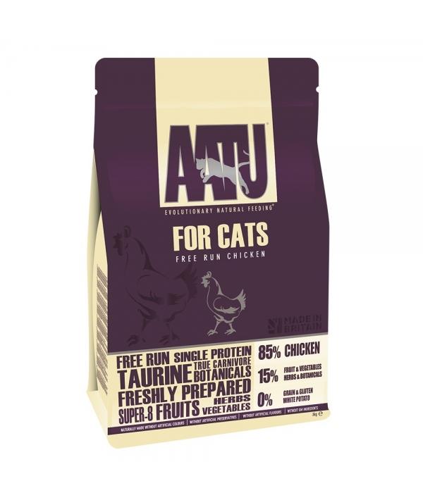 Корм для кошек Курица 85/15 (AATU CAT CHICKEN) ACCAT1