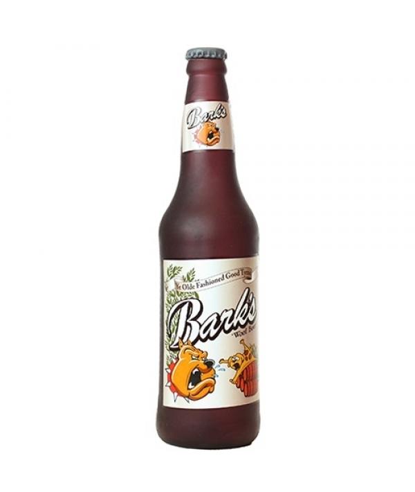 "Виниловая игрушка – пищалка для собак Бутылка пива ""Лай"" (Beer Bottle Barks) SS – BB – BR"