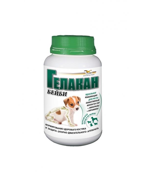Витамины для суставов щенков Бейби (Gelacan Baby) 500г – 100