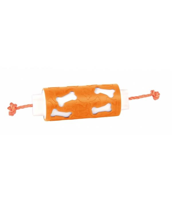 Кормушка – ролик для собак 17,5 см оранжевая (Dog 'N Roll 17,5cm orange) 06020AC