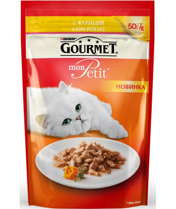 Кусочки в соусе Mon Petit с курицей 12287007/12319370