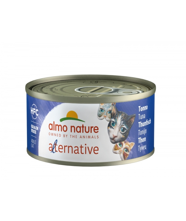 "Консервы для кошек ""Тунец"" (HFC ALMO NATURE ALTERNATIVE CATS TUNA) 5350H"