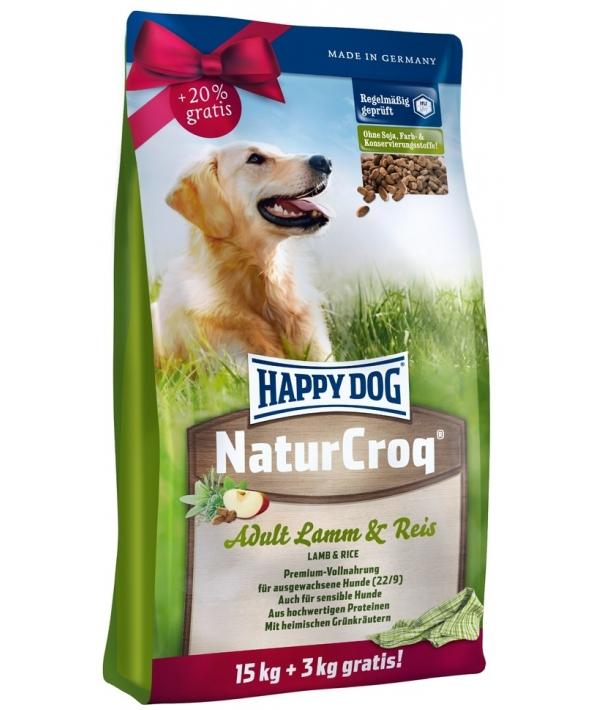Натур Крок для собак с ягненком и рисом