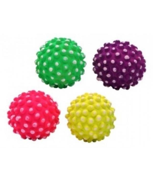 """Игрушка для собак """"Неоновый мяч – ежик"""" в ассортименте, 7,2 см (Neon hedgehog ball 7,2 cm) 140135"""