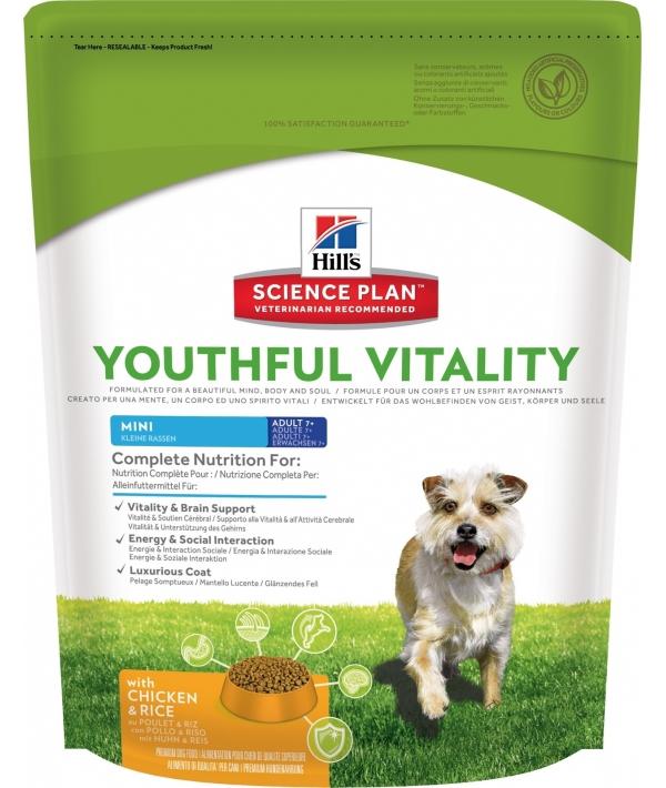 Для пожилых собак малых пород 7+ (Youthful Vitality) 10984Y
