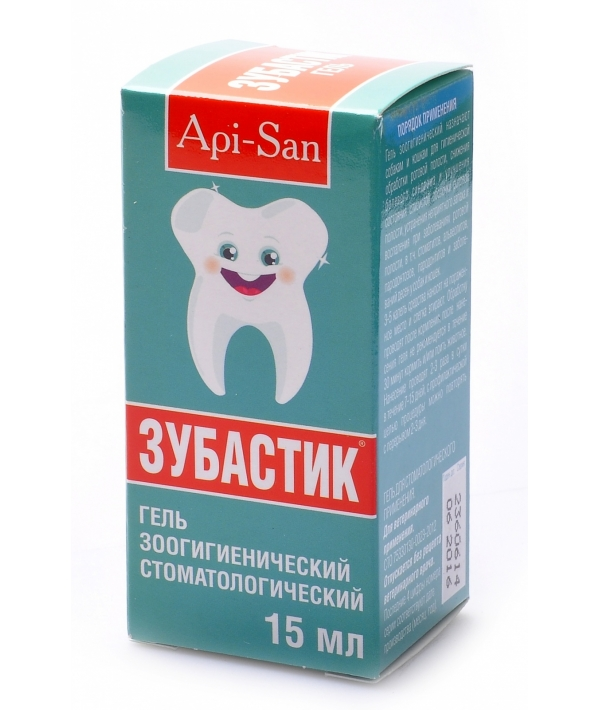 40770 Зубастик гель для чистки зубов
