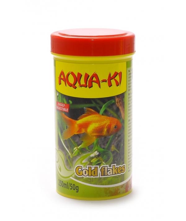 Корм для золотых рыбок, хлопья (AQUA – KI GOLD FLAKES 100 ML)