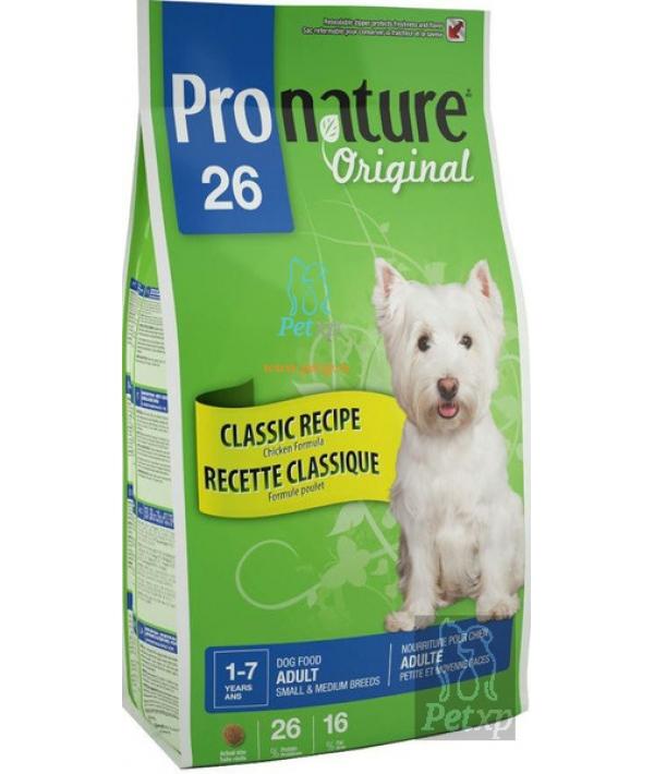 26 для взрослых собак малых и средних пород