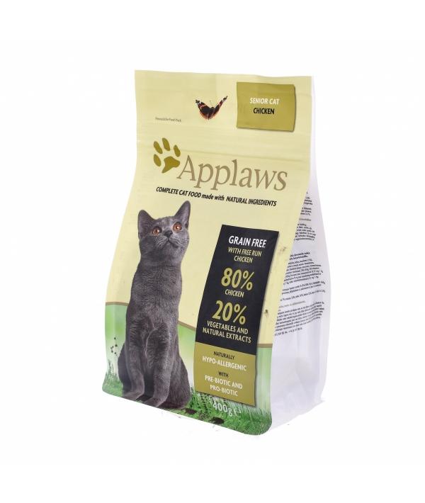 """Беззерновой для Пожилых кошек """"Курица/Овощи: 80/20%"""" (Dry Cat Senior) 4305ML – A"""
