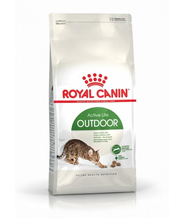 Для активных кошек: 1–10 лет (Outdoor 30) 494004/ 494104