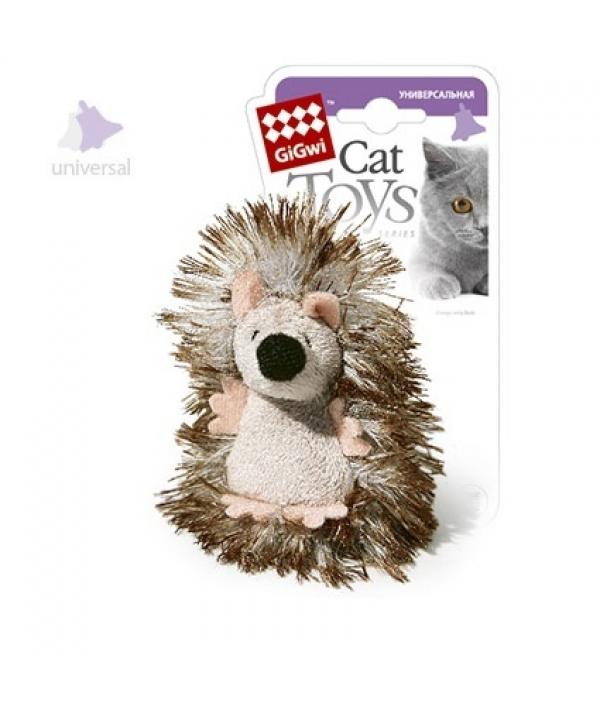 Игрушка для кошек Ёжик с погремушкой (75029)50108