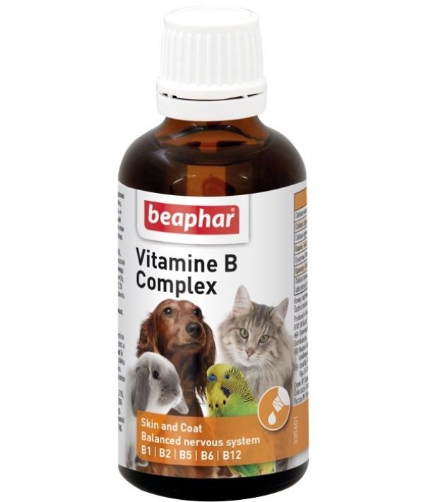 Комплекс витаминов В для кошек и собак (Vitamine – B – Komplex) 12523