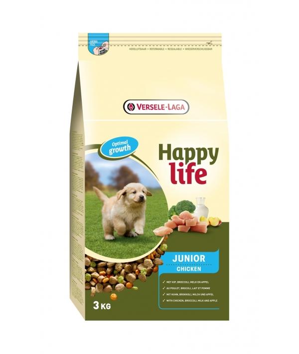 Для щенков с курицей (Happy life Junior Chicken) 431040