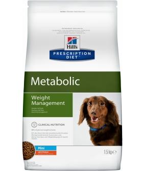 Cухой корм для улучшения метаболизма (коррекции веса) для собак малых пород (Meta Mini) 3355/3353U