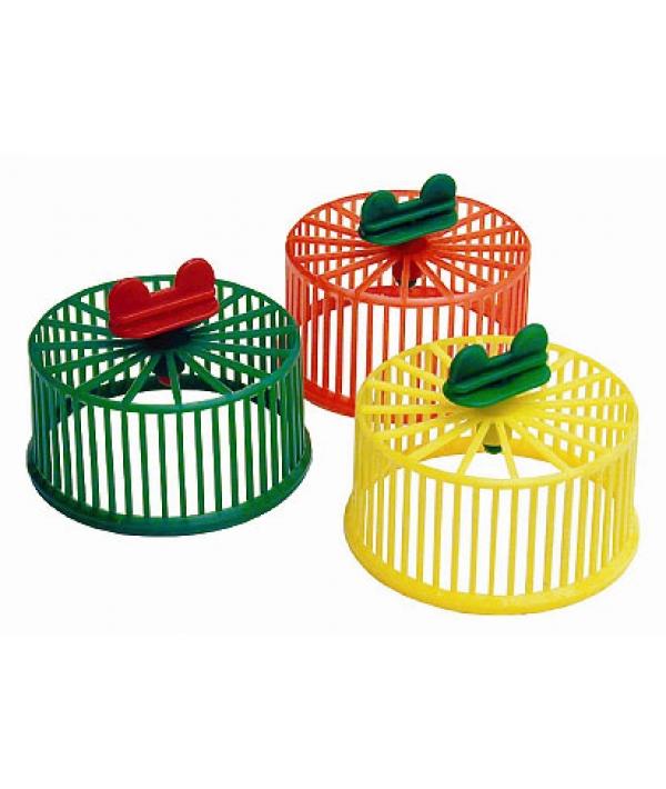 Колесо д/грызунов без подставки, пластик, 9см (3091)
