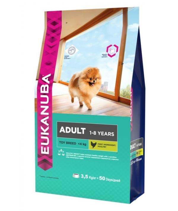 Для взрослых собак миниатюрных пород с курицей (Adult Toy Breed) 10135705
